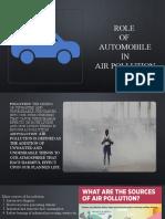 automobile pollution kiot