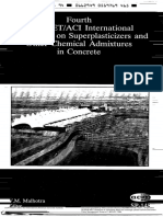 SUPERPLASTICIZERS & OTHER ADMIXTURES FOR CONCRETE