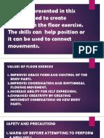floor skills  senior high school contempo