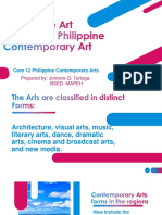 integrative art applied to philippine contemporary arts.