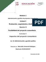 M2.U3.S9.Ac.1.Impactos del proyecto comunitario