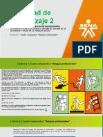 Presentación Evidencia 2 cuadro comparativo riesgos profesionales  ficha 1828684 y 1828510 RR HH