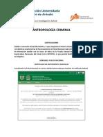 Antropología Criminal - Unidad 3.4