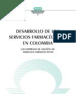 DESARROLLO DE LOS SERVICIOS FARMACEUTICOS EN COLOMBIA