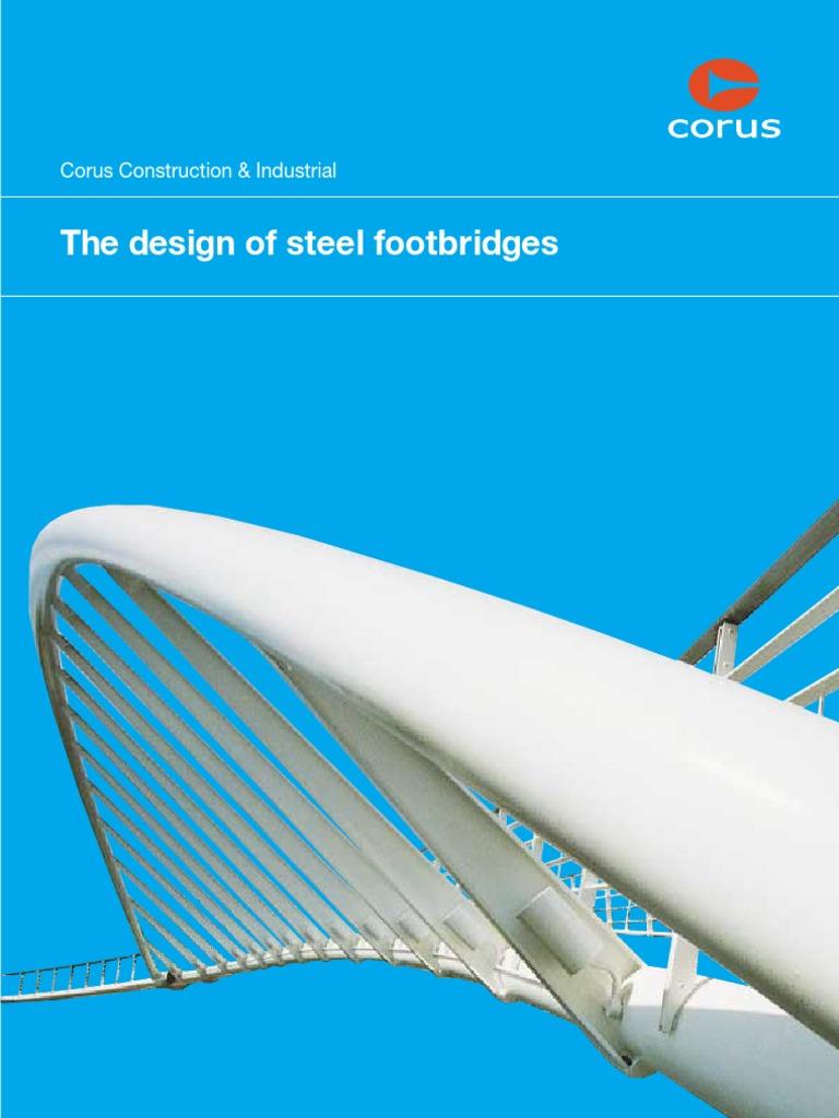 Design of Steel Footbridges 2005 | Truss | Structural Steel