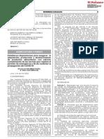 RESOLUCIÓN MINISTERIAL Nº 0094-2020-MINAGRI