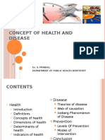 Concept of Health and Disease and Prevention.pptx