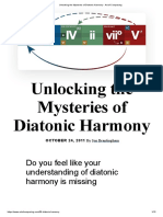 Unlocking the Mysteries of Diatonic Harmony - Art of Composing