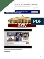 insightsonindia.com-RSTV THE BIG PICTURE- PUBLIC PROPERTY amp PROTEST