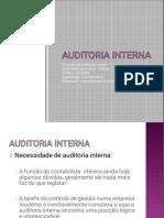 Definicao de  Auditoria Interna