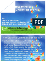 how wireless communication works