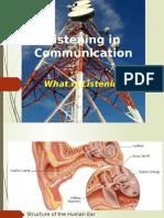 Listening in Communication