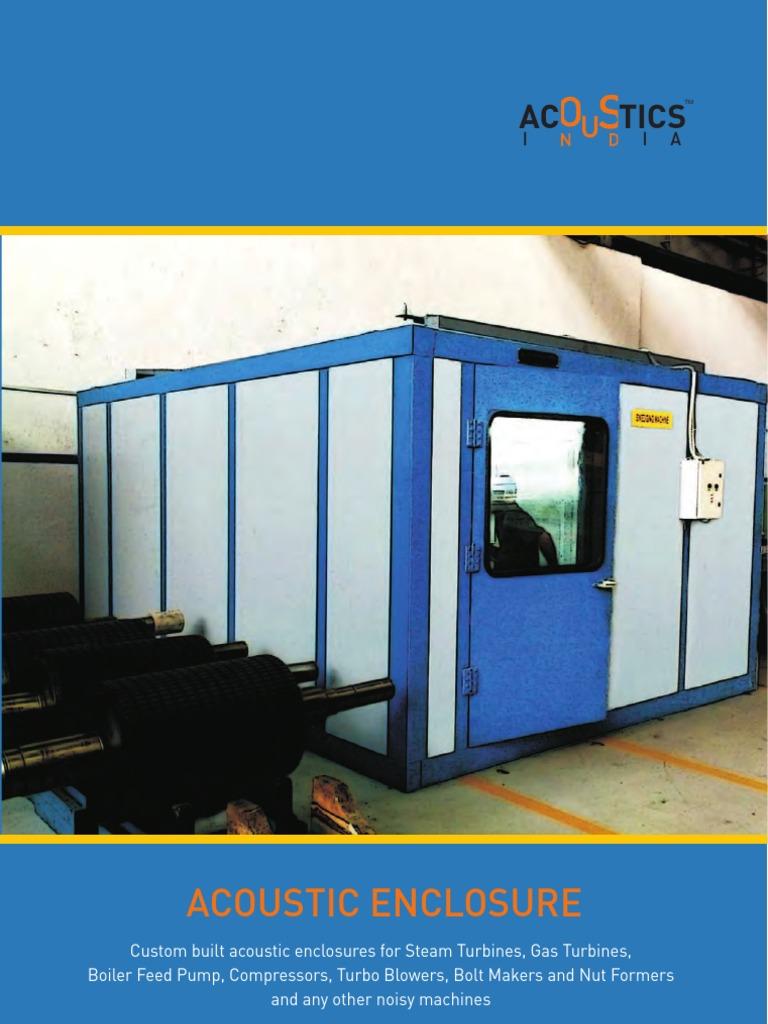Acoustic Enclosures | Gas Compressor | Noise