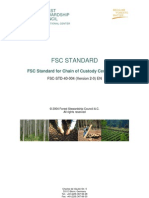 FSC STD 40 004 V2 0 en Standard for CoC Certification 2008 01