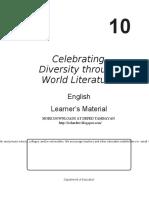 Grade 10 English LM