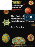 role_of_mathematics_on_evolutionary_theory