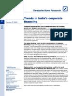 Trends in India Corporate