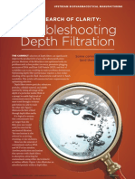 Troubleshooting Depth Filtration