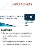 borrowing power of company.pdf