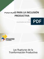Políticas para la transformación pública - SVallejo