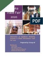Dhaka Trade Fair 2020