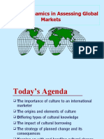 Chap-04 Cultural Dynamics in Assessing Global Markets ' 13e