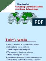 Chap-16 Integrated Marketing communications and International Advertising  13e
