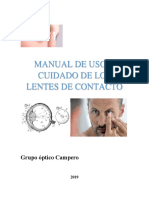 Manual Lentes de Contacto- Grupo Optico Campero 2