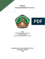 MODUL ILMU DASAR KEPERAWATAN II (1)
