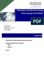 Green Energy Risks