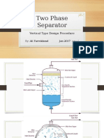 Two Phase Vertical Separator - Design Procedure.ppsx