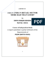 FDI IN INDIA'S RETAIL SECTOR MORE BAD THAN GOOD?
