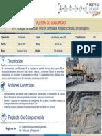 Alerta de Seguridad  - HPI Choque bulldozer #6 con camioneta #58 (14-03-2020)