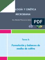 Fisiología y cinética microbiana Tema 5