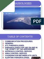 Aeronautical Phraseology for Atcos