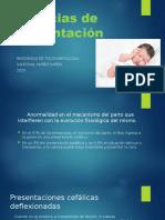 Distocias de Presentación.pptx