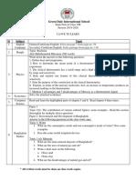Study Pack IV Class 8 2019 - 2020