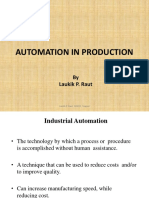 Automation by Laukik P Raut