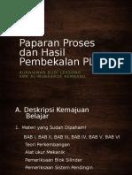 Paparan Proses dan Hasil Pembekalan PLPG