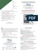 les journées industrielles de l'Institut Carnot M.I.N.E.S (IC M.I.N.E.S) Janvier 2011