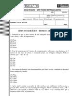 Senai itabira - TEOREMA DE PITAGORAS-Diesel