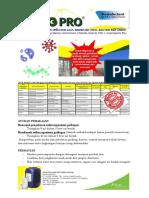 Leaflet HiG Pro for Covid-19