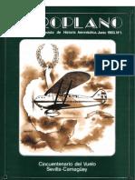 Revista Aeroplano número 01 del año 1983