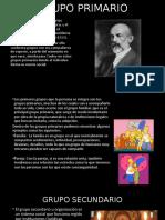 GRUPO PRIMARIO Y SECUNDARIO DIAPOS
