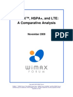 Wimax Hspa+and Lte 111809 Final