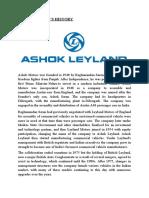 OST of ashok leyland