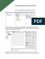 GUI con Java Swing (recuperado)