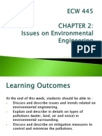 2) Issues on  Environmental Engineering