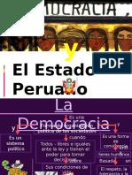 DEMOCRACIA Y ESTADO PERUANO