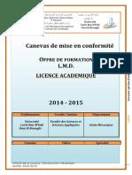 Licence- Construction mécanique